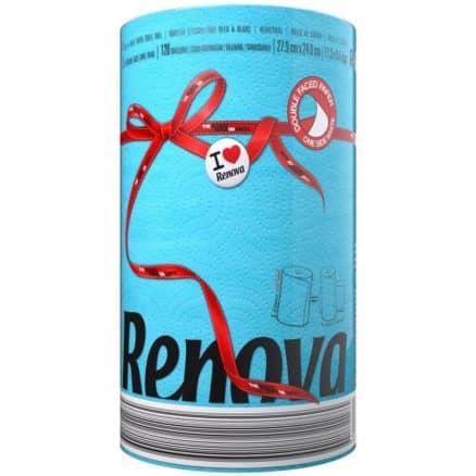 Синя Кухненска Ролка Хартия Renova