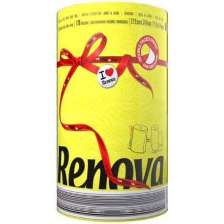 Жълта Кухненска Ролка Хартия Renova