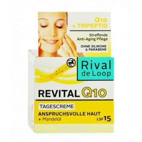 Подмладяващ Крем за Лице Rival de Loop Revital Q10