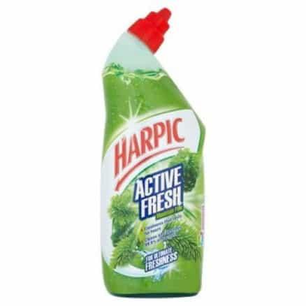 Препарат за Почистване на Тоалетни Чинии Harpic Active Fresh 750 ml.
