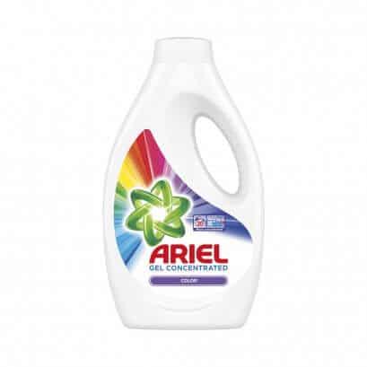 Течен Перилен Препарат за Цветно Пране Ariel 20 Изпирания 1100 мл.