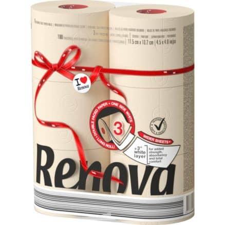 Тоалетна Хартия Renova Nude 6 бр.