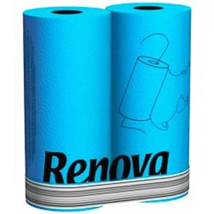 Тоалетна Хартия Renova Синя 6 бр.