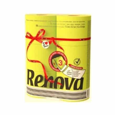 Тоалетна Хартия Renova Жълта 6 бр.