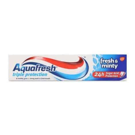 Паста за Зъби Aquafresh Triple Ptotection Fresh & Minty 100 мл.