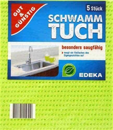 Попивателни Кърпи Schwammtuch Edeka 5 бр.