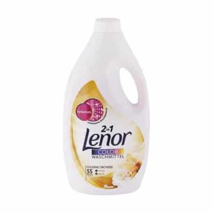 Течен Перилен Препарат за Цветно Пране Lenor 2in1 Golden Orchidee 55 Изпирания 3025 мл.