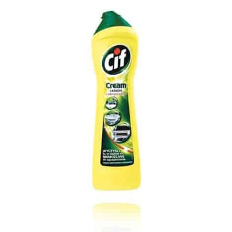 Универсален Крем за Почистване Cif Cream Лимон 500 ml.