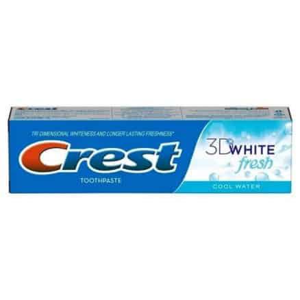 Избелваща Паста за Зъби Crest 3D White Fresh 100 ml.