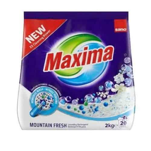 Прах за Бяло и Цветно Пране Sano Mauntain Spring 20 Изпирания 2 кг.