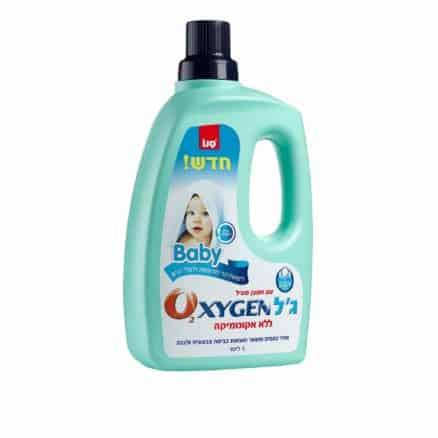 Препарат за Петна на Бебешки Дрехи Sano Oxygen 3 l.