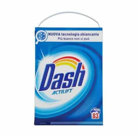 Универсален Прах за Пране Dash 83 Изпирания 5395 гр.