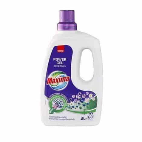 Универсален Течен Перилен Препарат Sano Maxima Spring Flowers 60 Изпирания 3 л.