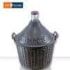 Дамаджана 15 литра в Пластмасов Кош с Дръжки