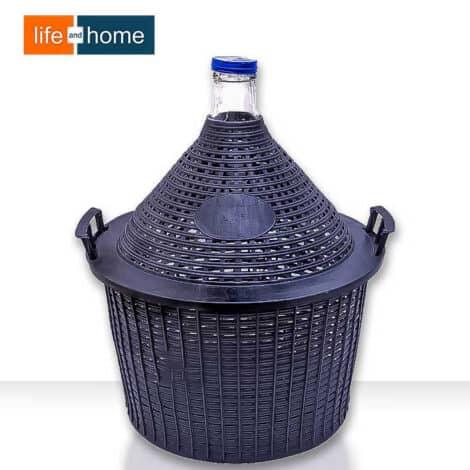 Стъклена Дамаджана 25 литра с Дръжки